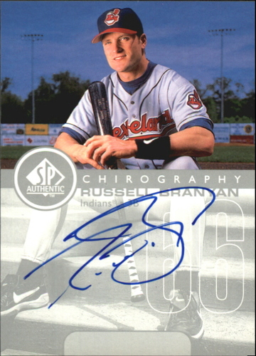 Photo of 1999 SP Authentic Chirography #RB Russell Branyan
