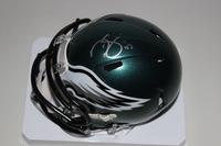 NFL - EAGLES DARREN SPROLES SIGNED EAGLES MINI HELMET