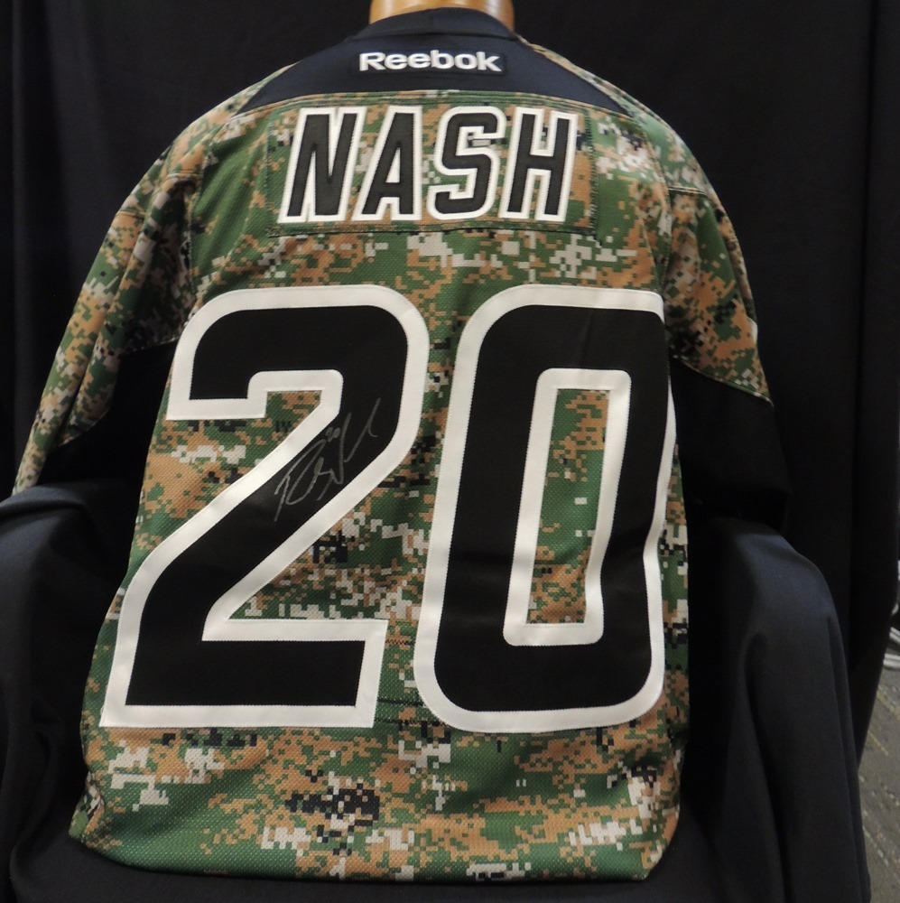 Carolina Hurricanes Authentic Military Appreciation Night Riley Nash #20 Jersey