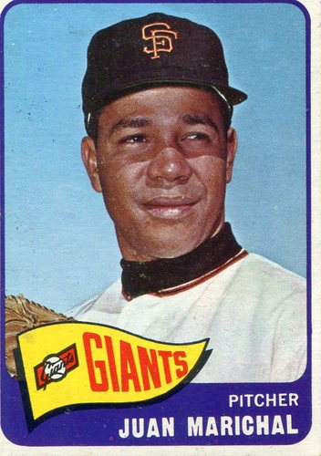 Photo of 1965 Topps #50 Juan Marichal -- Hall of Famer