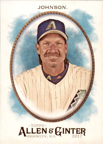 Photo of 2017 Topps Allen and Ginter #279 Randy Johnson