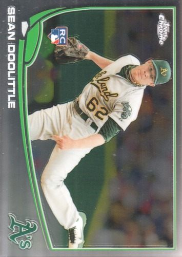 Photo of 2013 Topps Chrome #147 Sean Doolittle Rookie Card -- Nationals post-season