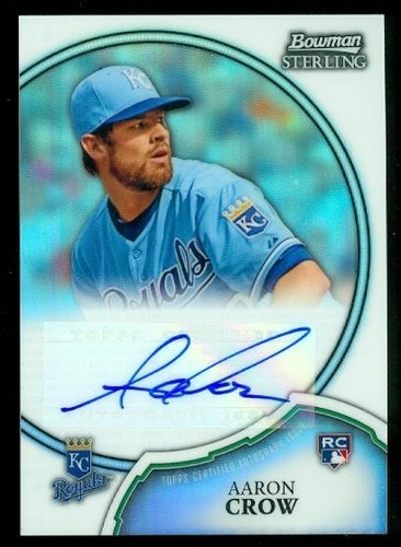 Photo of 2011 Bowman Sterling Rookie Autographs Refractors #11 Aaron Crow