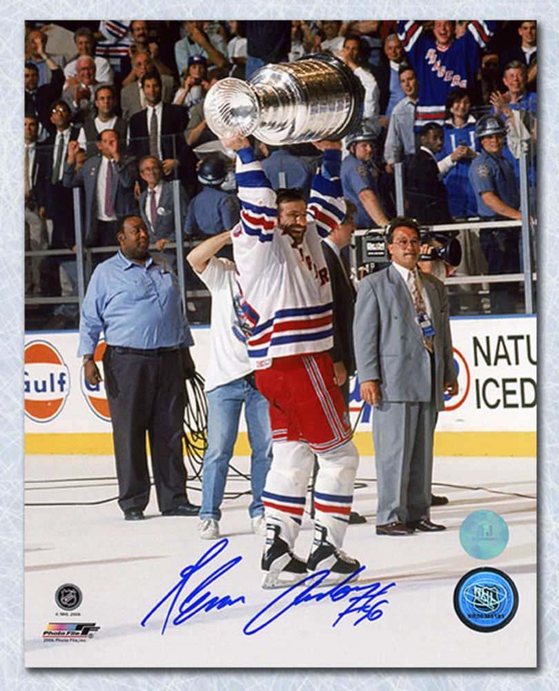 Glenn Anderson New York Rangers Autographed 1994 Stanley Cup 8x10 Photo
