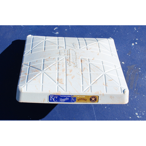 Photo of Game-Used 3rd Base: HOU at KC - June 24, 2016 (Cuthbert Homerun)