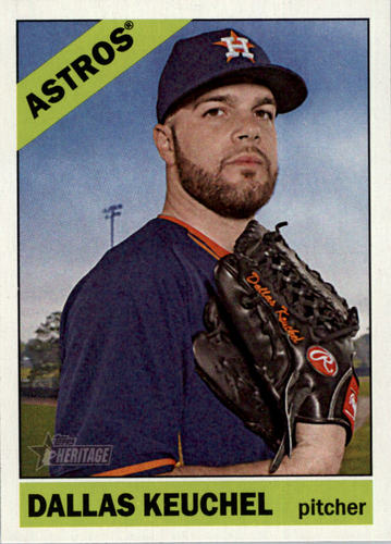 Photo of 2015 Topps Heritage #349 Dallas Keuchel