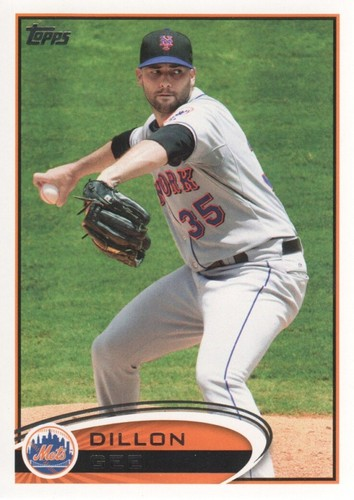 Photo of 2012 Topps #346 Dillon Gee