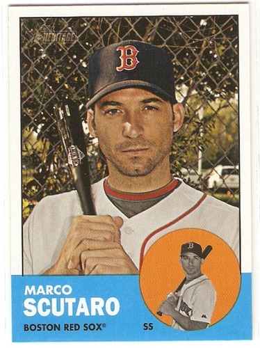 Photo of 2012 Topps Heritage #188 Marco Scutaro