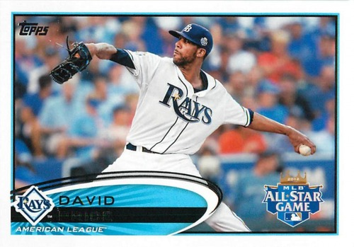 Photo of 2012 Topps Update #US305 David Price