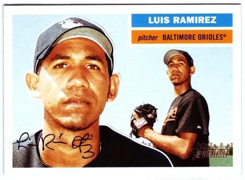 Photo of 2005 Topps Heritage #370 Luis Ramirez RC
