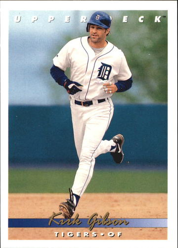 Photo of 1993 Upper Deck Gold Hologram #766 Kirk Gibson