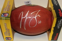NFL - EAGLES MALCOLM JENKINS SIGNED AUTHENTIC FOOTBALL