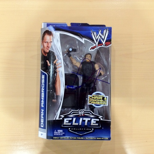 SIGNED Dean Ambrose Elite Series 25 Action Figure
