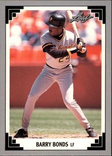 Photo of 1991 Leaf Previews #9 Barry Bonds