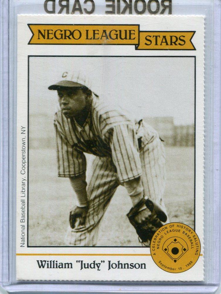 1988 Negro League Duquesne Light Co. #9 William(Judy) Johnson