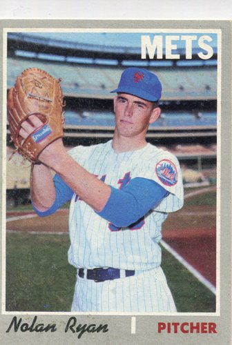 Photo of 1970 Topps #712 Nolan Ryan -- Hall of Famer