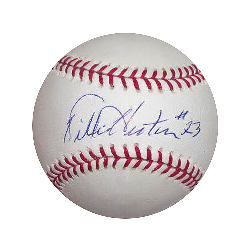 Photo of Detroit Tigers Willie Horton Autographed Baseball