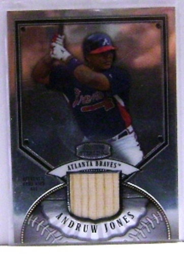 Photo of 2007 Bowman Sterling #AJ Andruw Jones Bat B