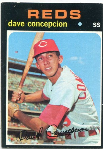Photo of 1971 Topps #14 Dave Concepcion Rookie Card