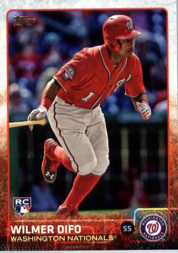 Photo of 2015 Topps Update #US2 Wilmer Difo Rookie Card -- Nationals post-season