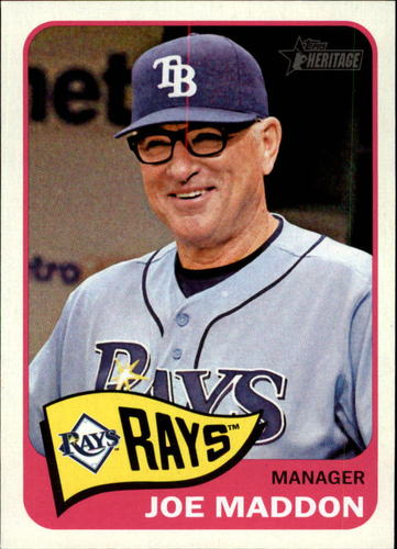 Photo of 2014 Topps Heritage #66 Joe Maddon MG
