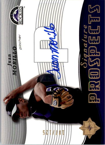 Photo of 2005 Ultimate Signature #144 Juan Morillo AU RC