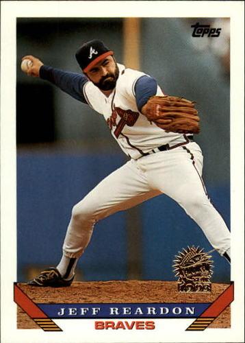 Photo of 1993 Topps Inaugural Marlins #475 Jeff Reardon