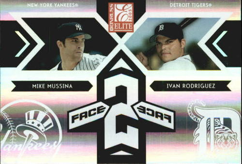 Photo of 2005 Donruss Elite Face 2 Face #4 M.Mussina/I.Rodriguez