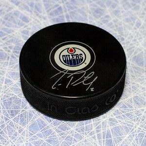 Jeff Petry Edmonton Oilers Autographed Hockey Puck