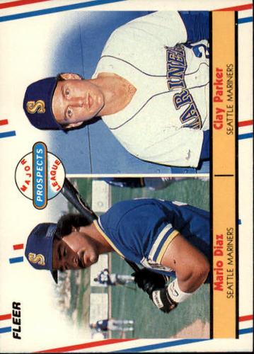 Photo of 1988 Fleer #649 Mario Diaz/Clay Parker RC