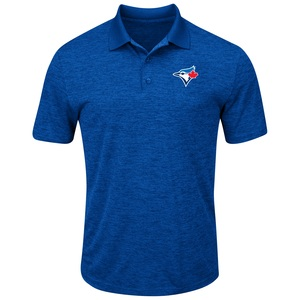 Toronto Blue Jays Hit First Golf Shirt by Majestic