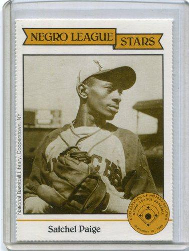 Photo of 1988 Negro League Duquesne Light Co. #11 LeRoy(Satchel) Paige
