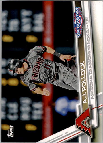 Photo of 2017 Topps Opening Day #185 A.J. Pollock