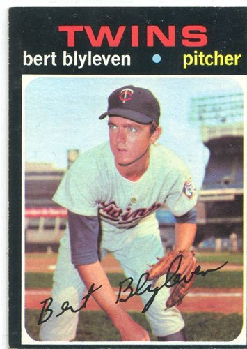 Photo of 1971 Topps #26 Bert Blyleven -- Hall of Famer Rookie Card