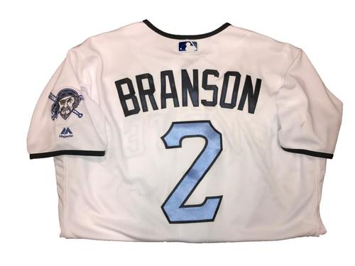 Photo of Jeff Branson Game-Used Father's Day Weekend Jersey - Worn on 6/17 & 6/18