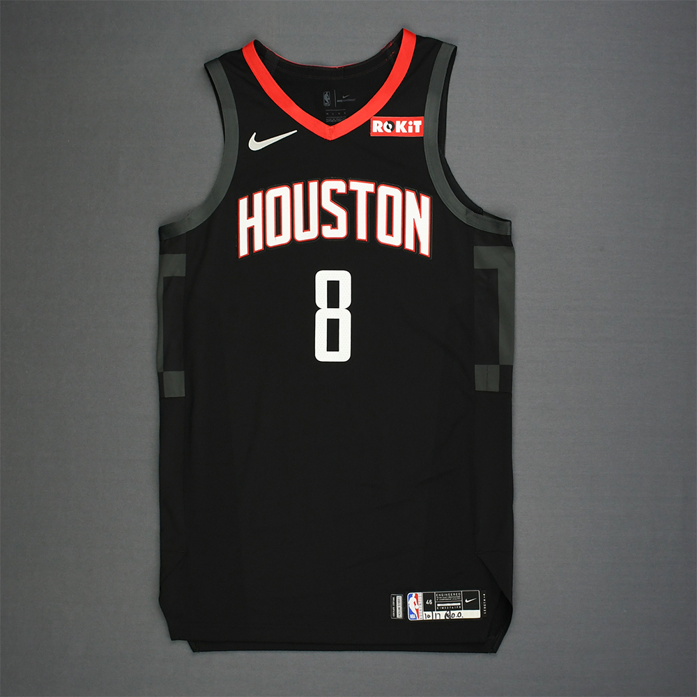 James Ennis III - Houston Rockets - Kia NBA Tip-Off 2018 - Game-Worn Statement Edition Jersey