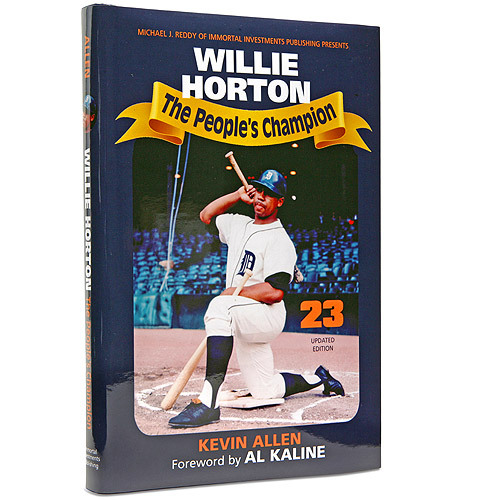 Photo of Detroit Tigers Willie Horton Autographed Book