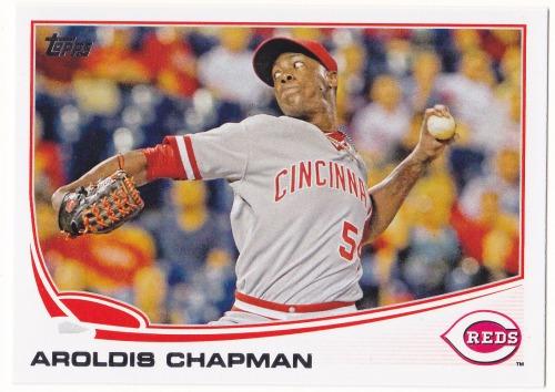 Photo of 2013 Topps #396 Aroldis Chapman