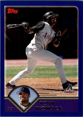 Photo of 2003 Topps #193 Tony Womack