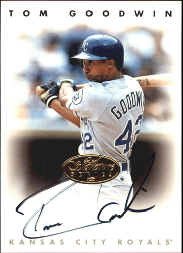 Photo of 1996 Leaf Signature Autographs Gold #82 Tom Goodwin