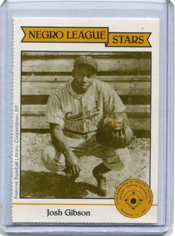 1988 Negro League Duquesne Light Co. #12 Josh Gibson