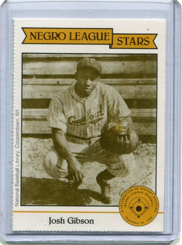 Photo of 1988 Negro League Duquesne Light Co. #12 Josh Gibson