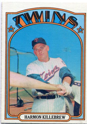 Photo of 1972 Topps #51 Harmon Killebrew