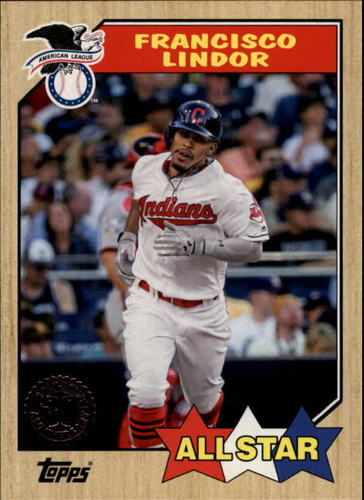 Photo of 2017 Topps '87 Topps #87133 Francisco Lindor