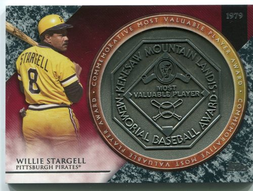 Photo of 2017 Topps Update MVP Award Relics #MVPRWS Willie Stargell