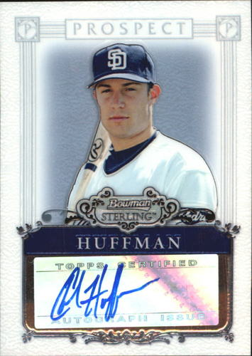 Photo of 2006 Bowman Sterling Prospects #CHH Chad Huffman AU B
