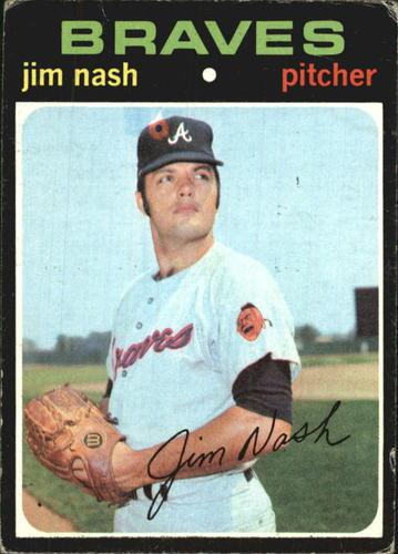 Photo of 1971 Topps #306 Jim Nash