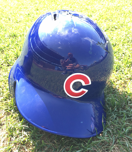 Photo of Anthony Rizzo Game-Used Helmet -- Size 7 1/2 -- Cubs at Padres -- 8/22/16