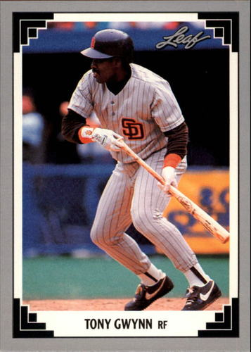Photo of 1991 Leaf Previews #11 Tony Gwynn