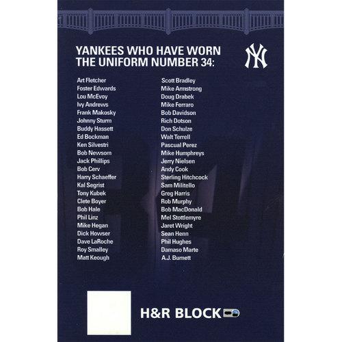 Photo of Yankee Stadium Suite Level Sign #34